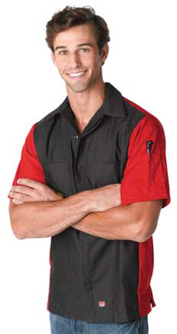 RedKap Adult 4.25 Ounce Short Sleeve Crew Shirt